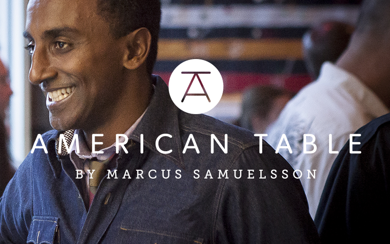 American Table by Marcus Samuelsson Branding and Design