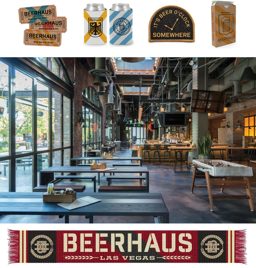 BEERHAUS, BRANDING, DESIGN, LAS VEGAS, MGM RESORTS, LOVE AND WAR