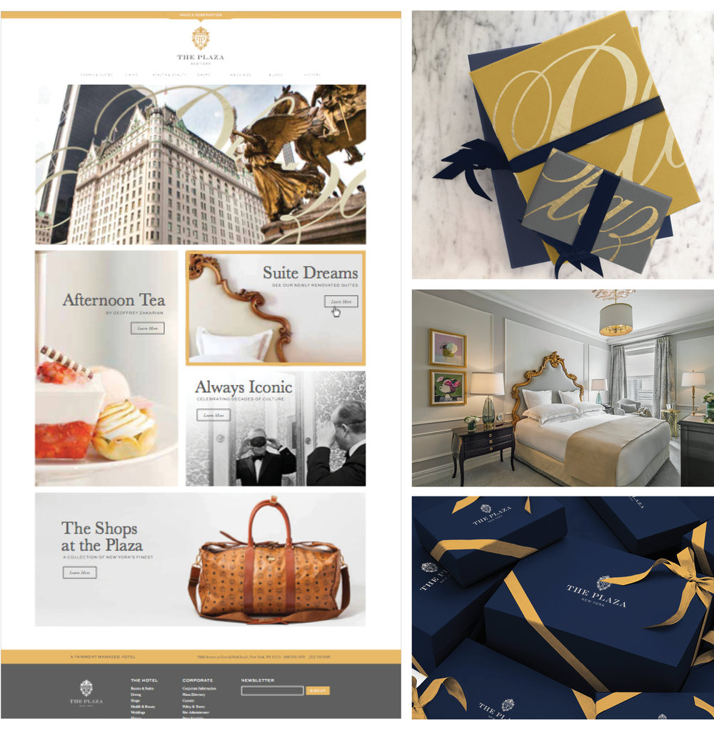 The Plaza Hotel, BRANDING, DESIGN,   Geoffrey Zakarian,   New York, LOVE AND WAR