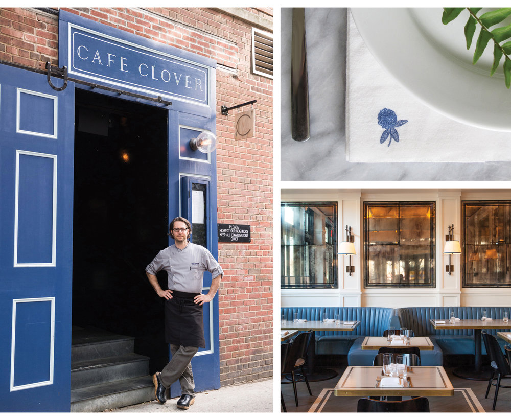 Cafe Clover, BRANDING, DESIGN, New York, LOVE AND WAR