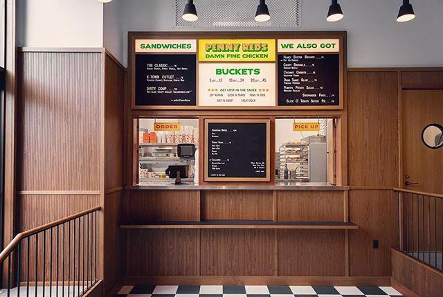 Previews of @eatpennyreds in today's @eater 🙌🏽@gachotstudios #brandingstuff #hospitalitydesign #damnfinechicken #joynpain #detroit #shinolahotel