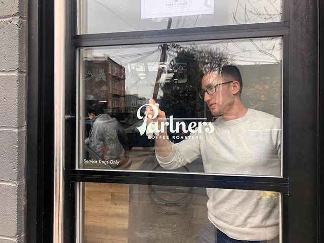 Excited to share the brand new @partnerscoffee (formerly Toby's Estate). Same crew, same great coffee #brandingstuff #packagingstuff #williamsburg #coffee #roasted