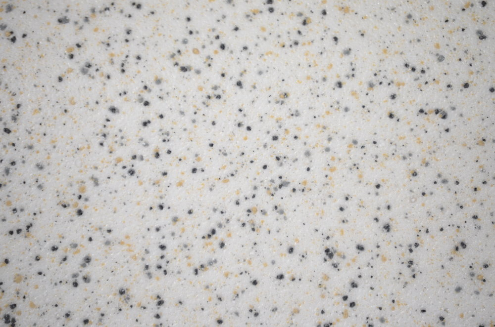 granite speckle on white
