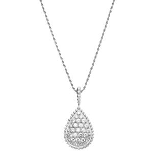 Serpent Bohème Halskette Halskette der Kollektion Serpent Bohème in 18 Karat Weissgold mit Diamanten gefasst.