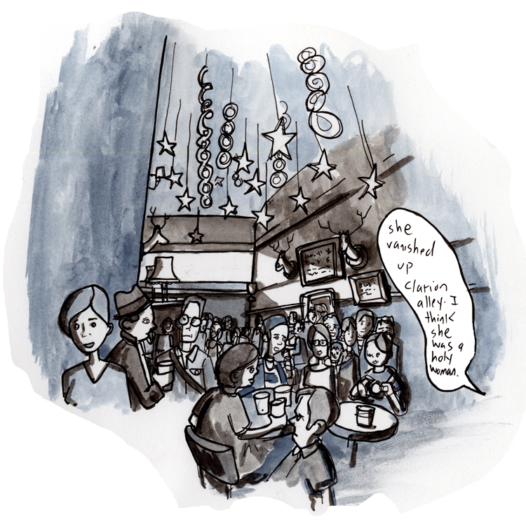 The Make-Out Room, April 26th — from my illustrated column at The Bay Citizen.