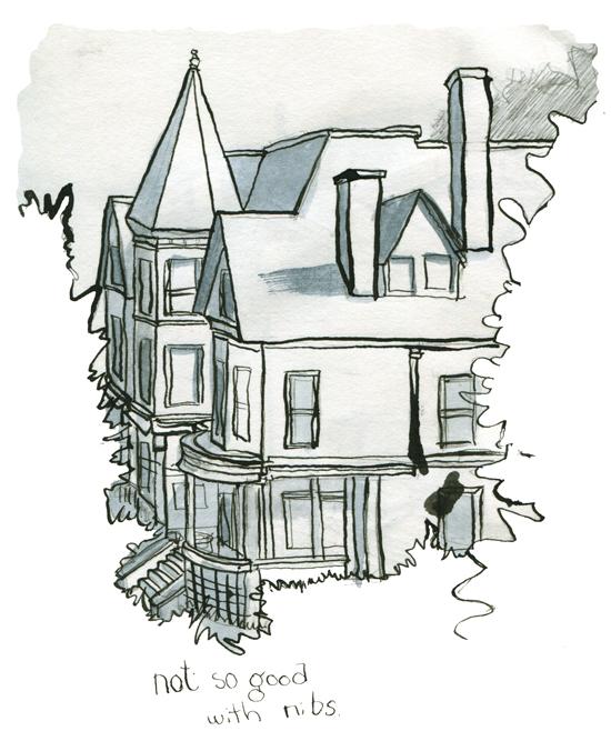 Sketchbook: Eastern Promenade, Portland Maine