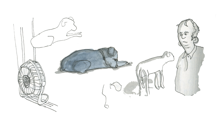 Sketchbook: Scribbler the dog