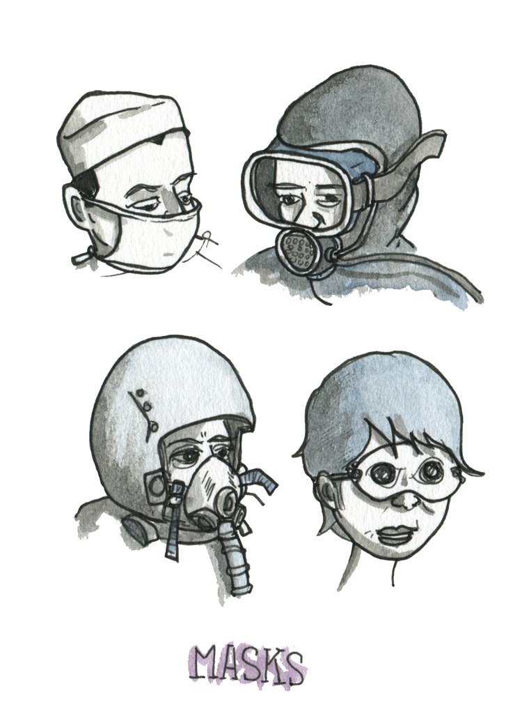 Sketchbook: Masks