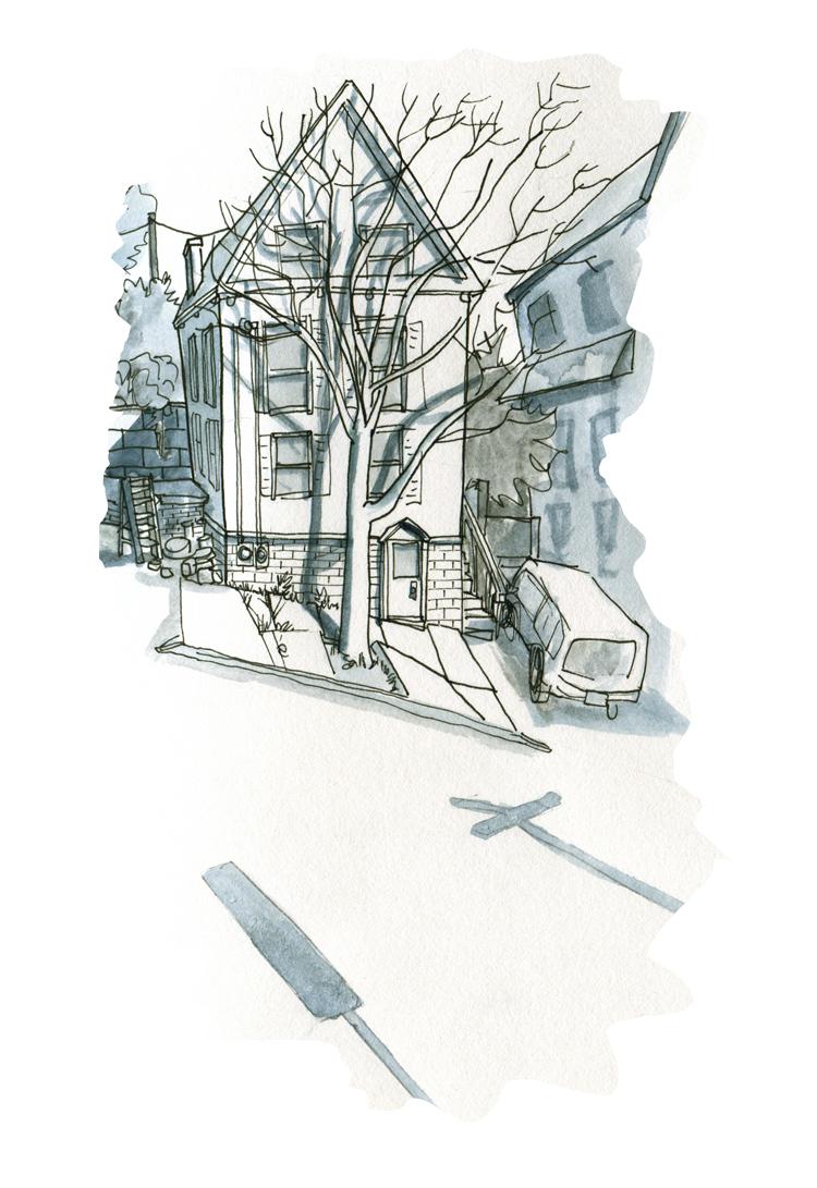 Sketchbook: Waterville Street — Portland, ME