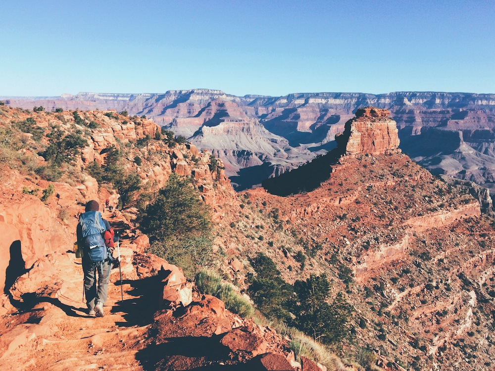 Down the South Kaibab Trail