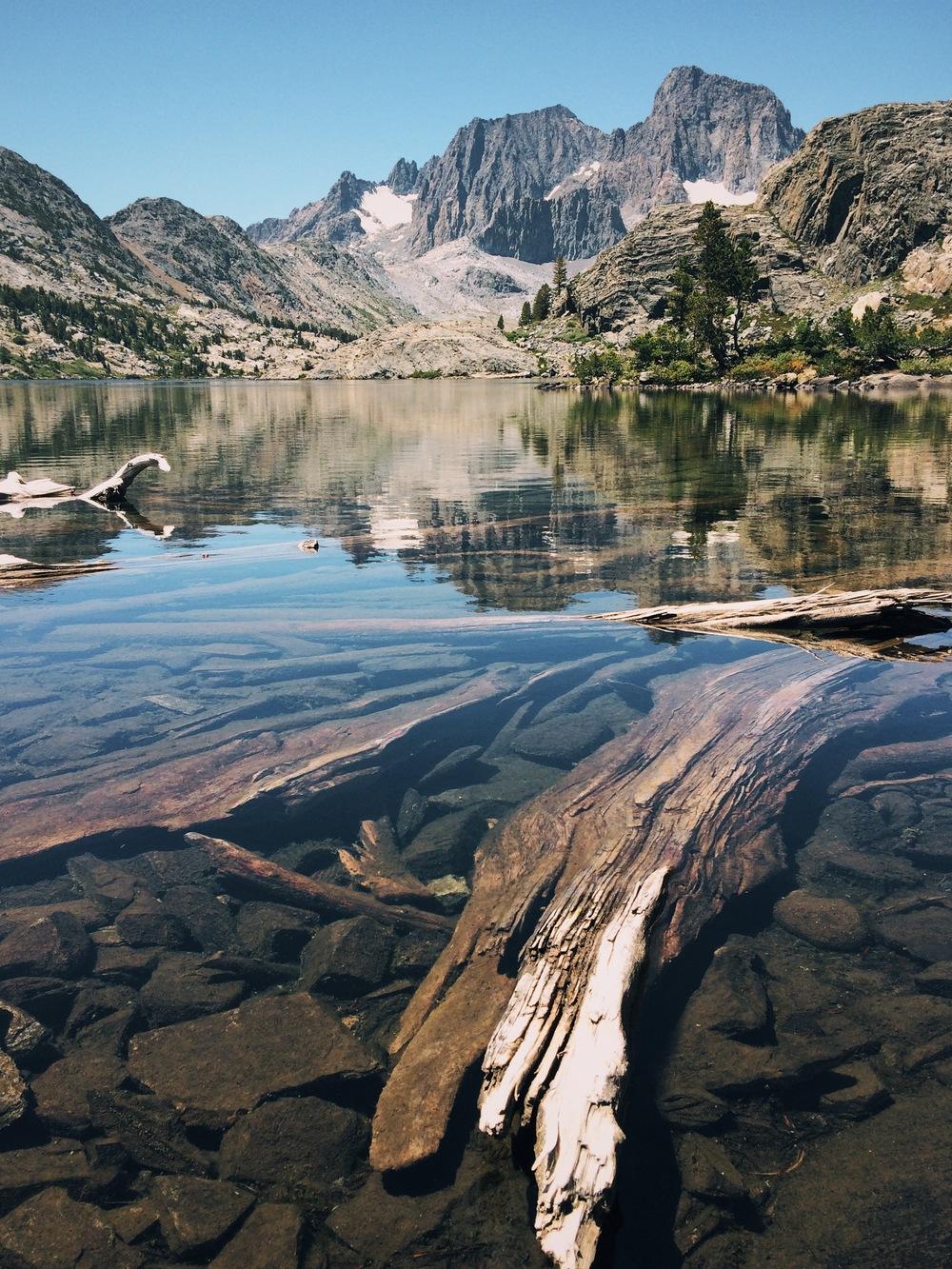 Garnet Lake.