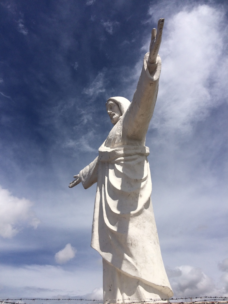 Jesus Blanco watching over Cusco.