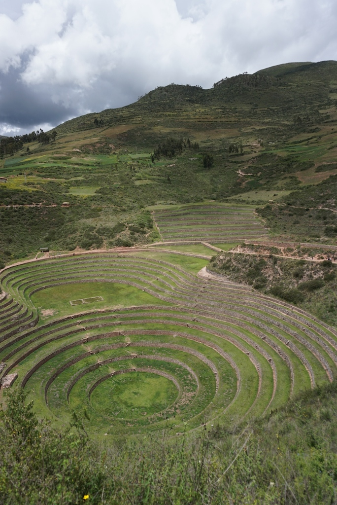 Circular terraces of Moray