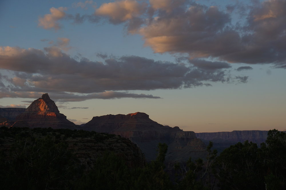 Sunset at Horseshoe Mesa