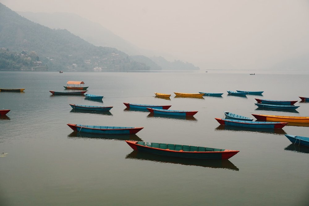 Lake view, Pokhara