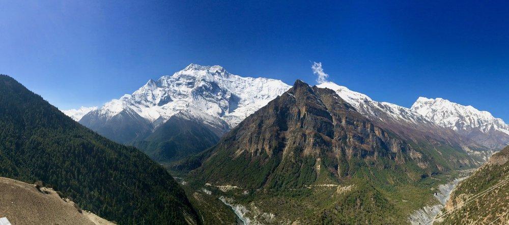 Annapurna II looks on