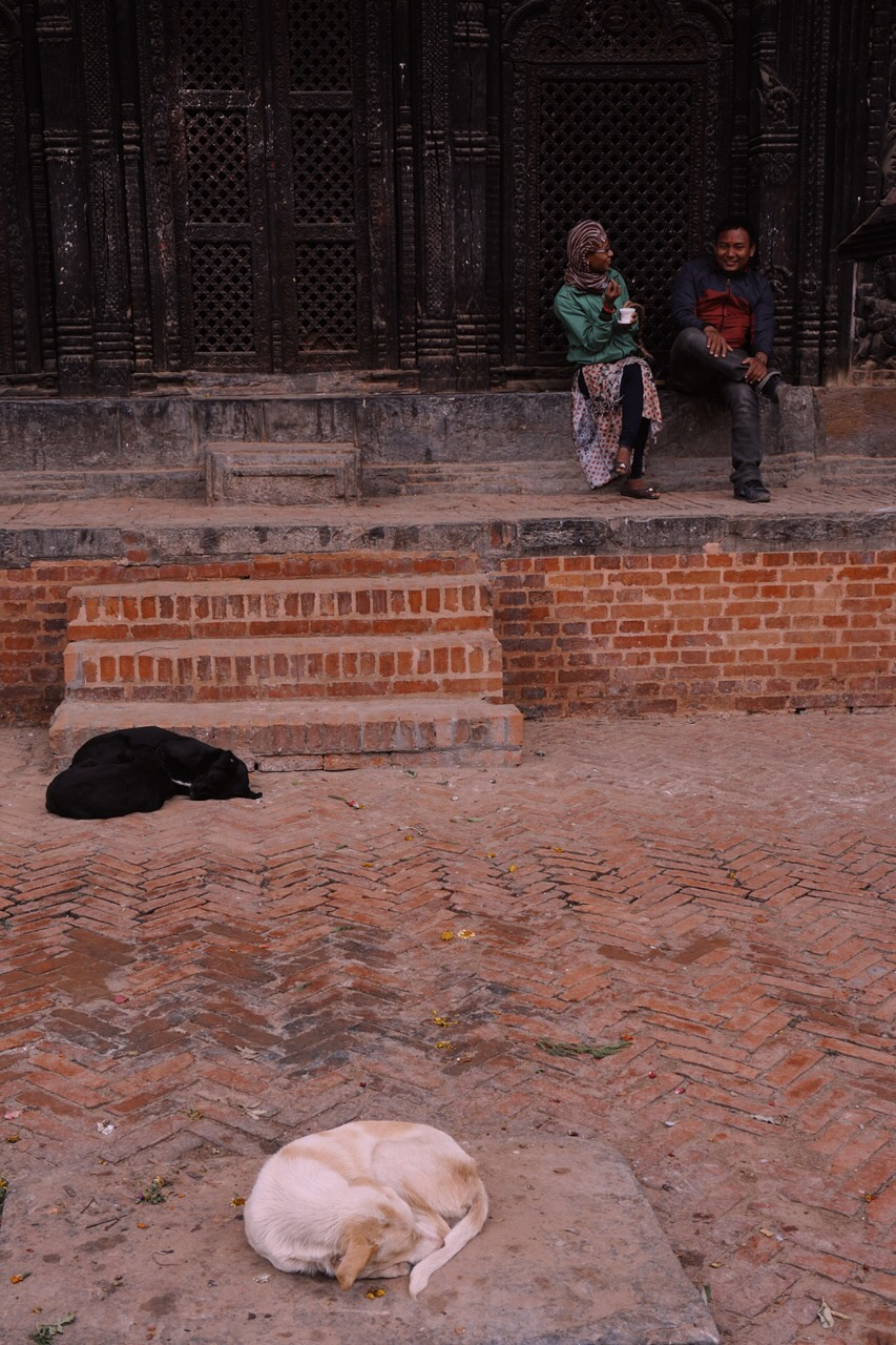 Sleeping in the day, Bhaktapur