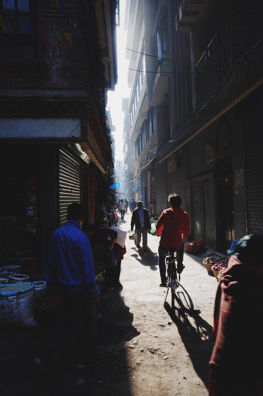 Alleyway, Kathmandu