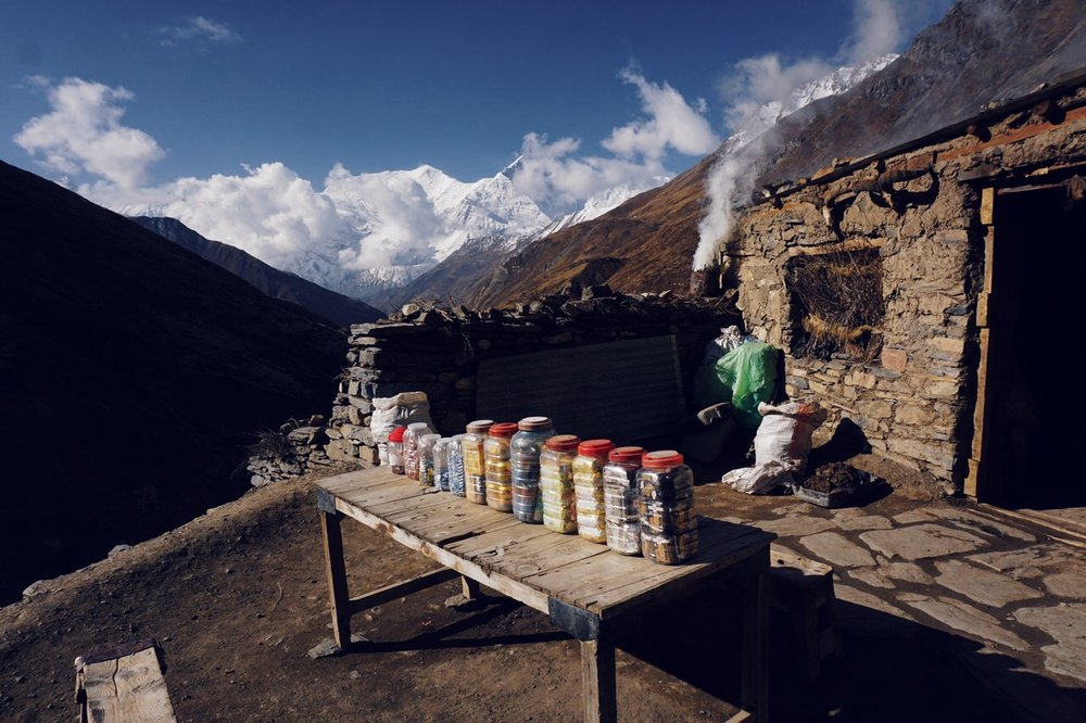 Deurali Teahouse, around 15,000 ft