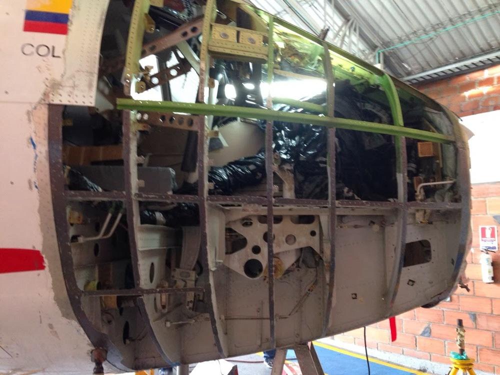 ATR Structural repairs