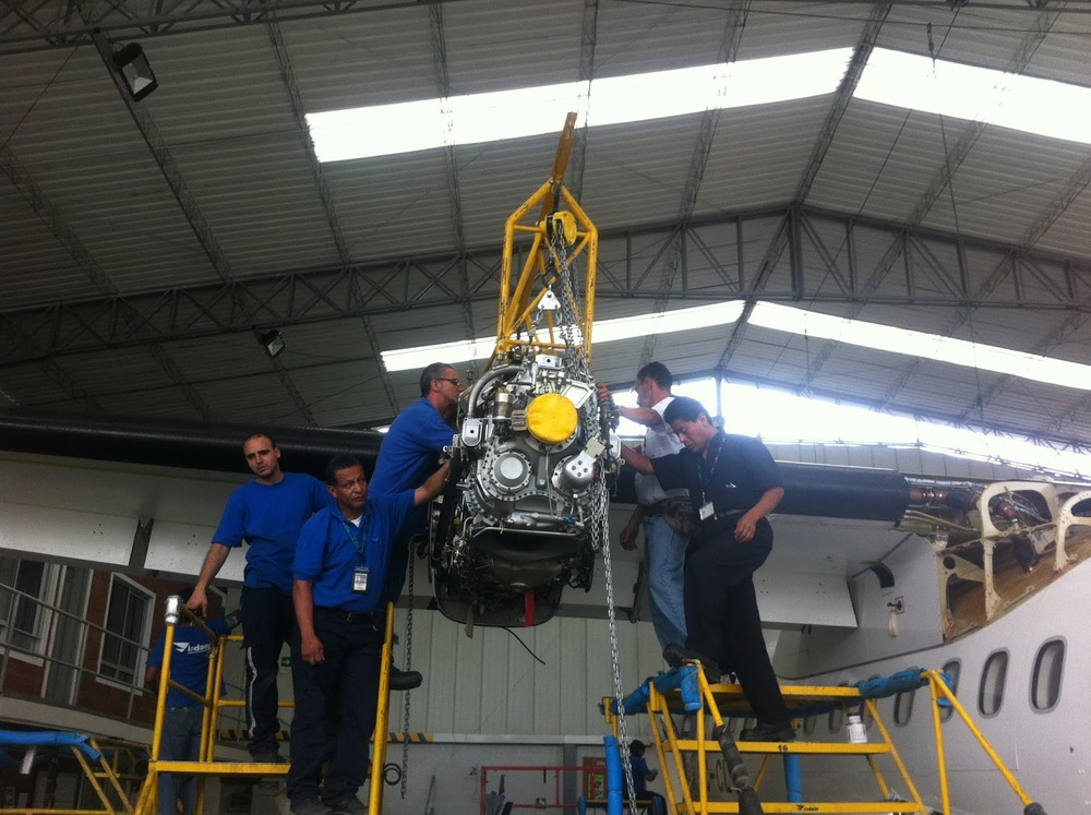 ATR Engine Removal and Installation