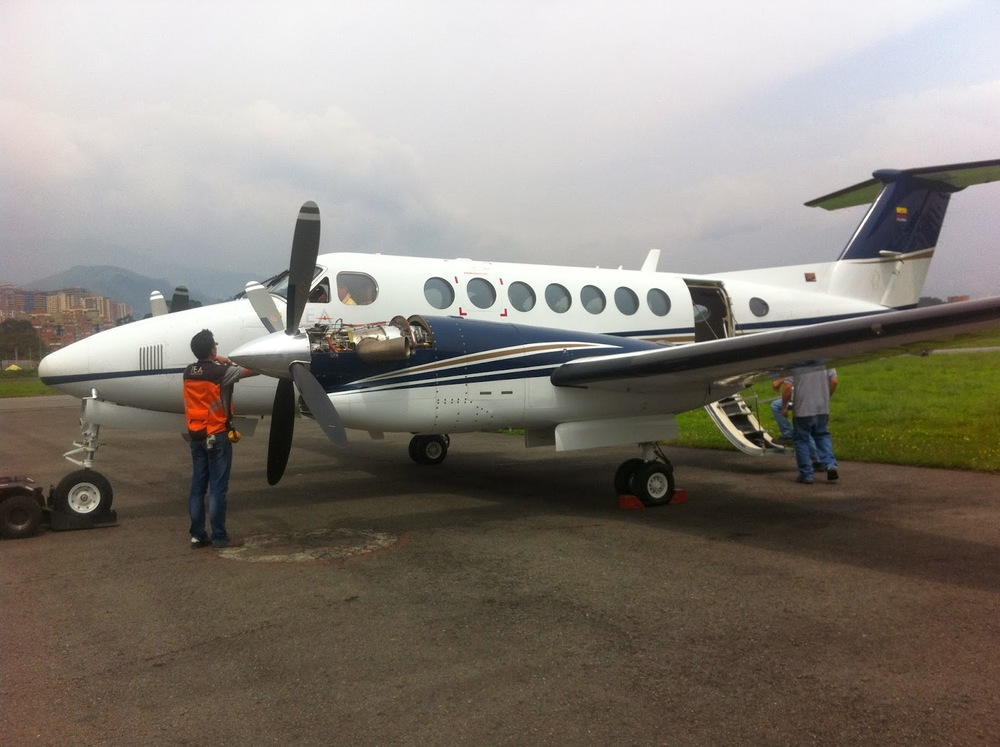 King Air Line maintenance
