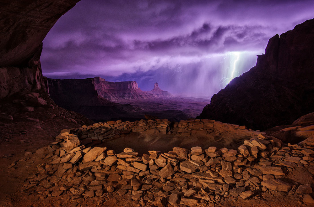 1Thunderstorm at False Kiva.jpg