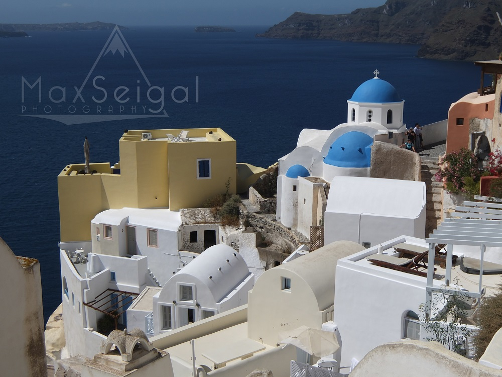 Another shot from Santorini. It's hard to take a bad photo in this beautiful town...