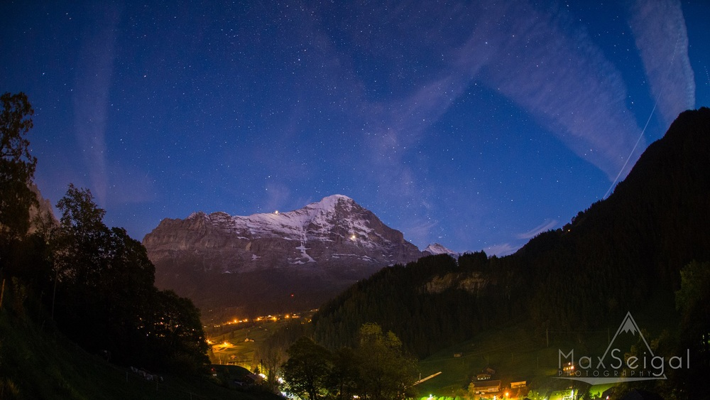 Made a quick visit to the Eiger, and couldn't resist posting a shot of the milky way rising over another one of the most iconic mountains in all of Europe.