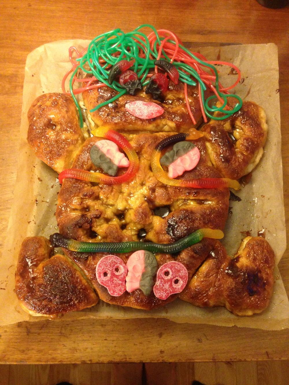 Homemade traditional Danish birthday cake!