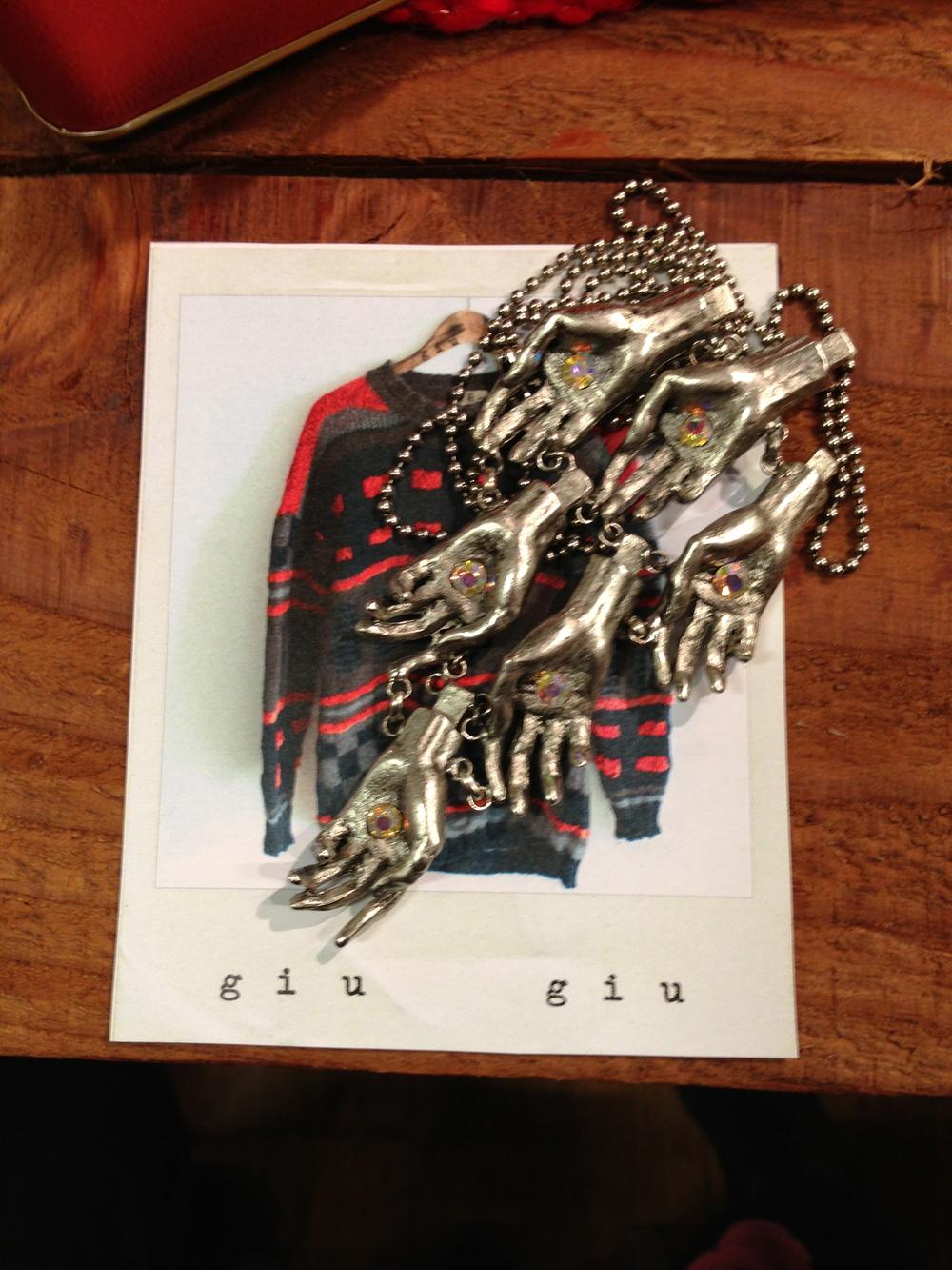 Giu Giu sweaters + Para Dys jewelry!