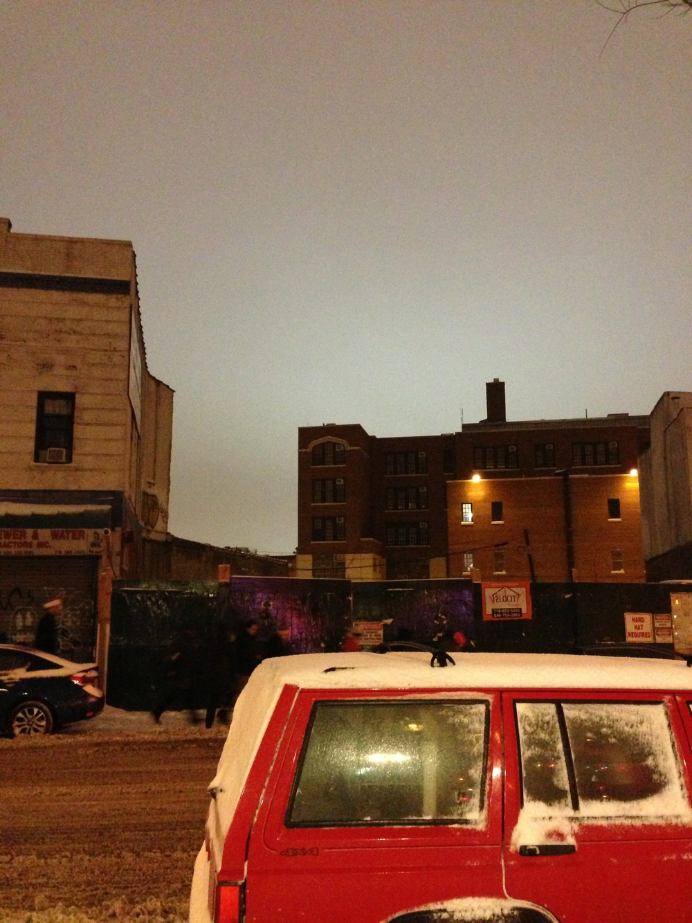 Kristine&Giuliana/Romy&Michele Trek the Blizzard in Brooklyn for 7 Bottles of Mixers..........5am Sky @ 10pm