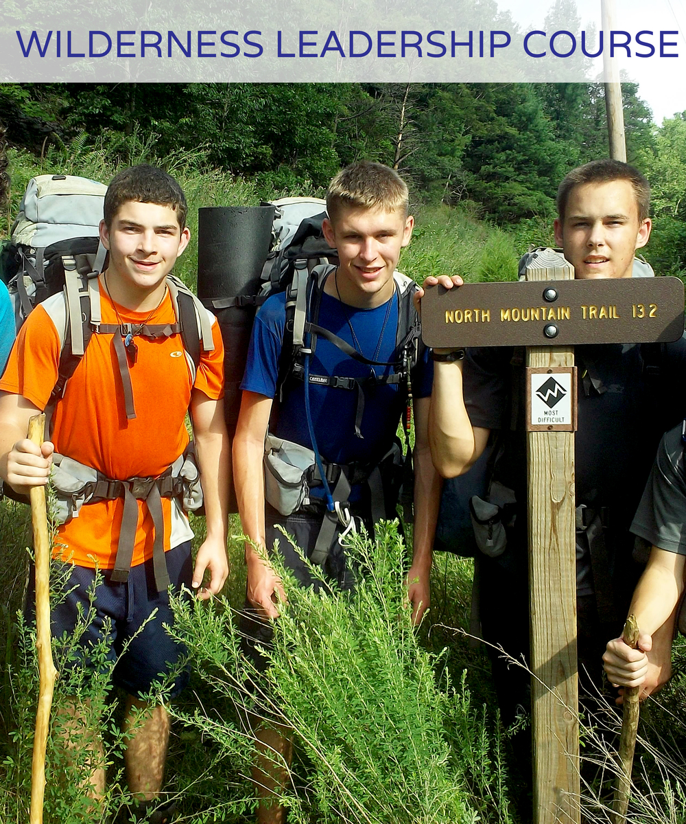 Wilderness Leadership Course June 28th - July 18th 3 weeks Ages 14-17