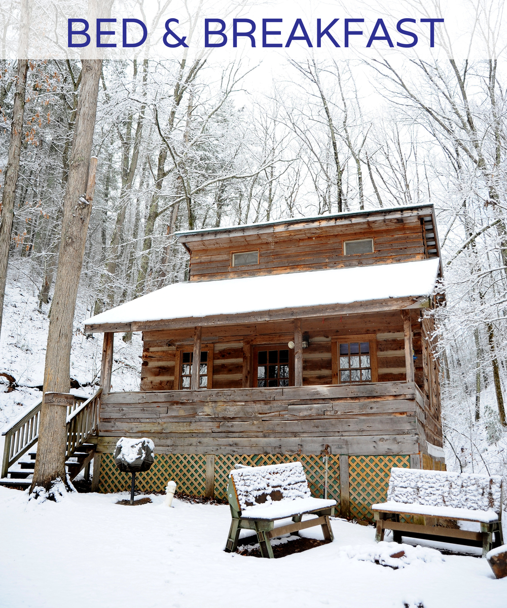 Organize your own getaway in southwest Virginia.  Our Bed & Breakfast special, which runs throughout the winter months, is the perfect escape for two!
