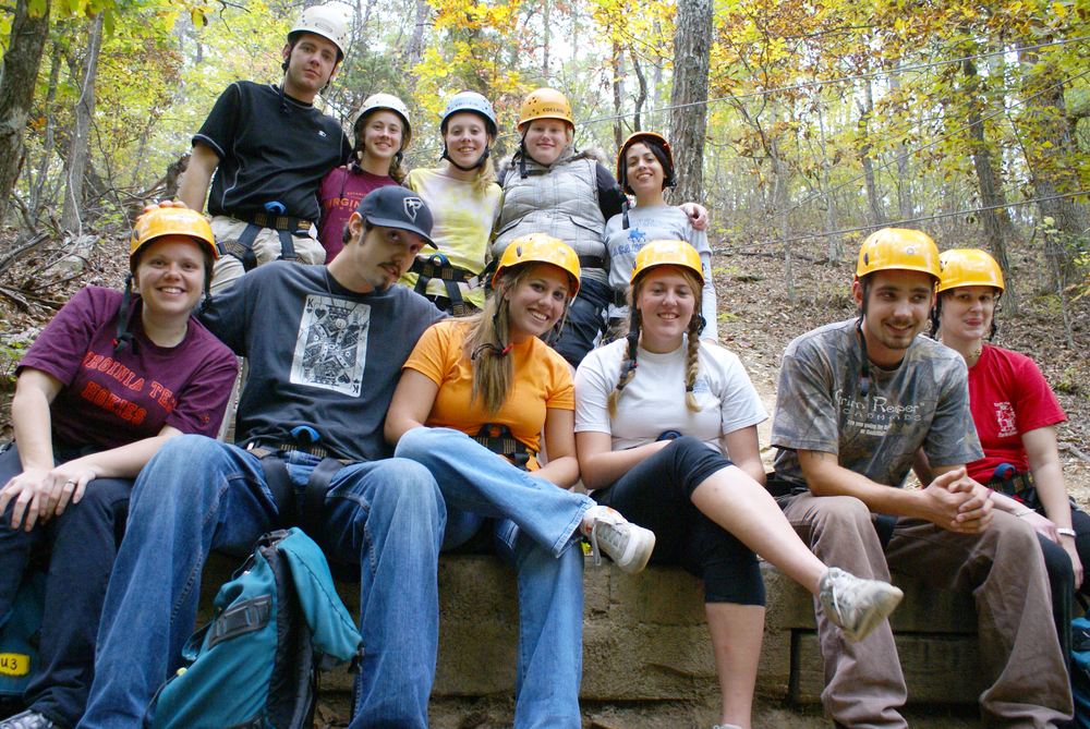 Adult Grp at High Ropes.JPG