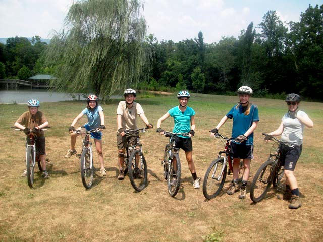 mountain bike lineup.JPG