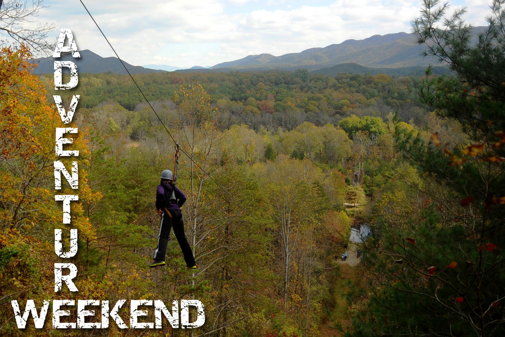 Our incredibly popular 900' Zip Line offers spectacular Blue Ridge Views and is only $25/person!