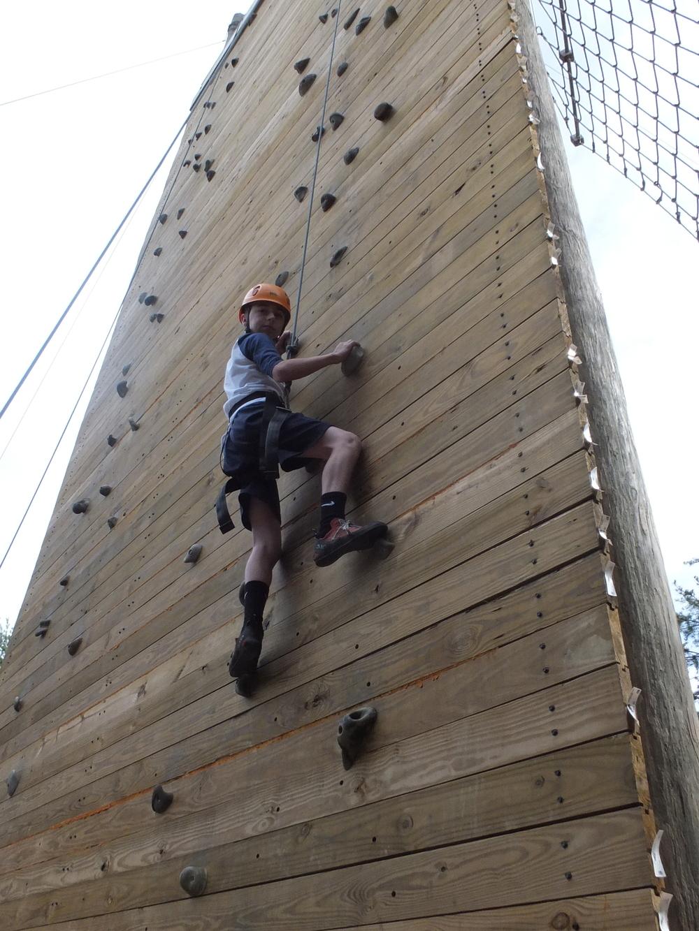 50' Climbing Wall