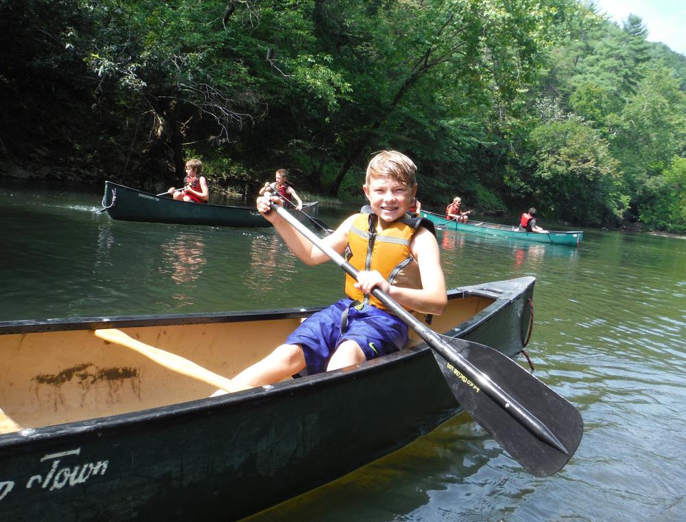 Canoeing Craig's Creek