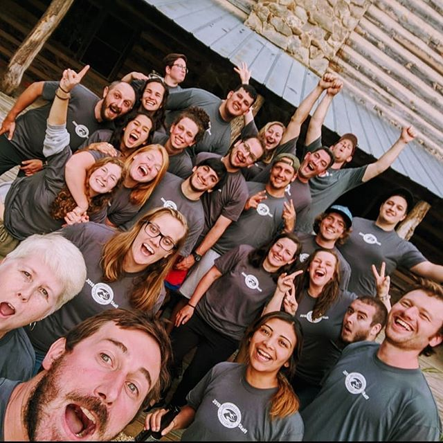 Staff Photo: Team 2018! #campstaff #WAsome #wastaff #summer #summercamp #bugjuice #challengebutter #wildernessadventure #squadgoals #ship #selfie #blueridge #roanokeva #virginiaisforlovers #virginia #staff #workfam