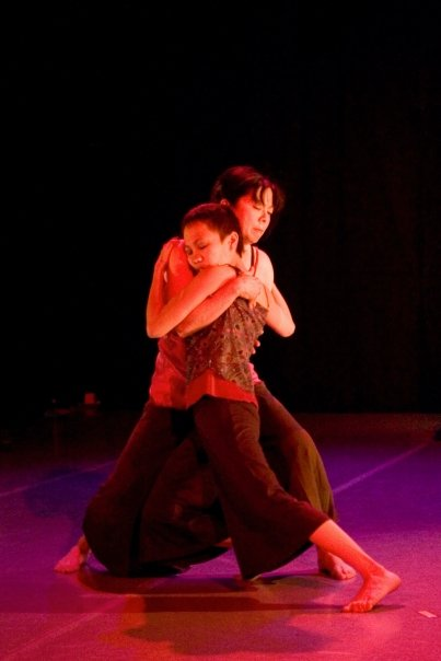 "Karen Lentz &  Frances   Sedayao  in ""Unsing the Song,"" ABD Productions, Photo by  Edward  Casati"