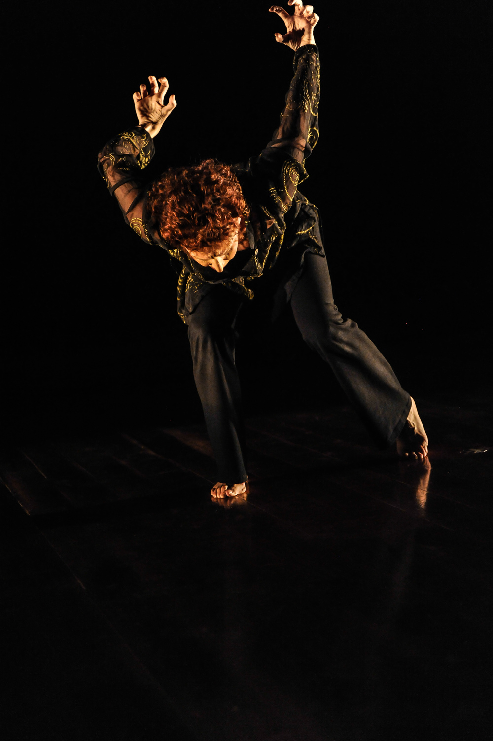 "Anne Bluethenthal in ""Forgiveness Project: Part One,"" ABD Productions, Photo by Anton Martynov"