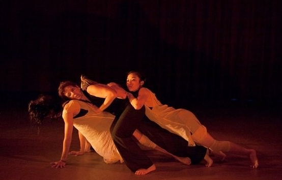 "ABD Ensemble in ""Pluto in Capricorn,"" Photo by Edward Casati"