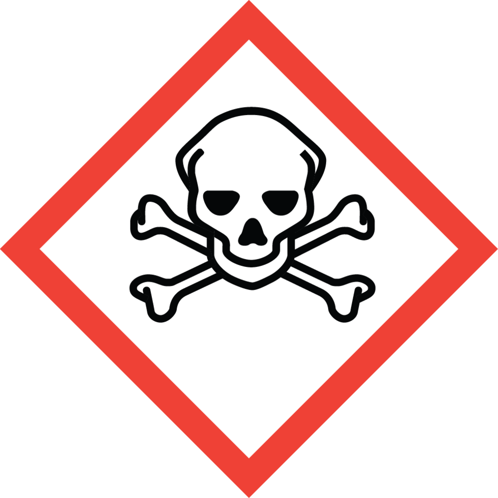 Skull and Crossbones   Acute Toxicity (fatal or toxic)