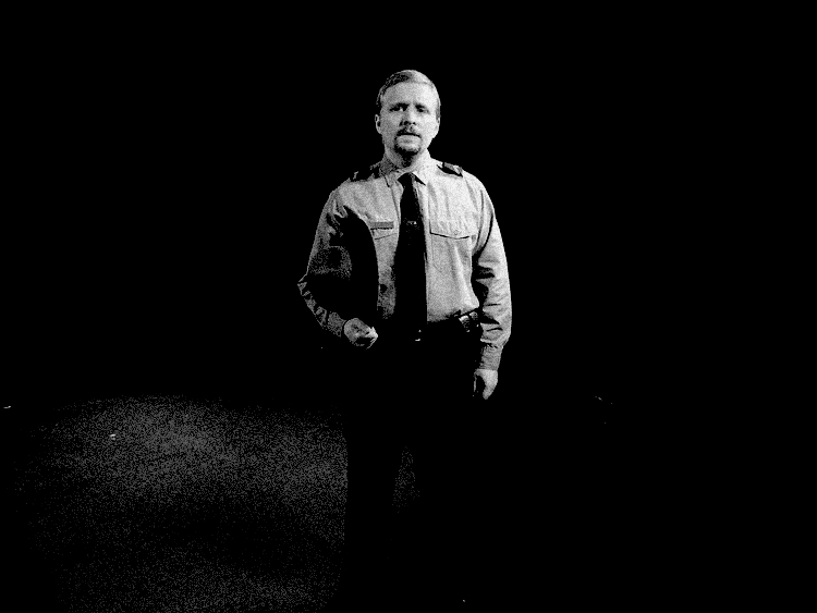 "David DelGrosso as Cop in ""When Is A Clock"" (2008)"
