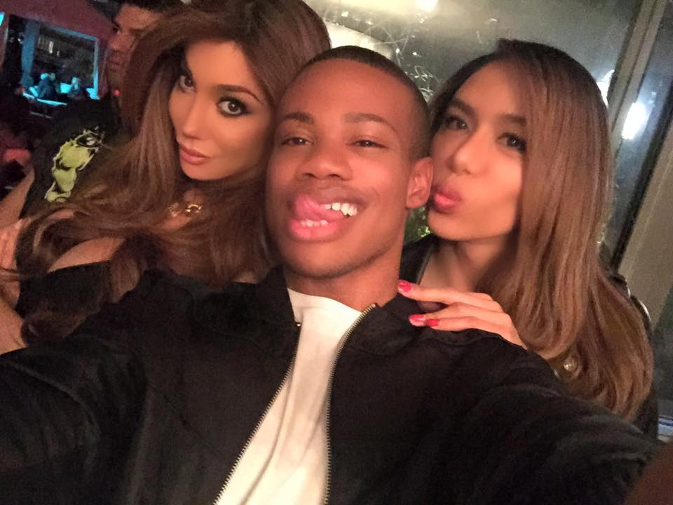 we promise we won't do the kylie lip challenge. Yasmine Petty, Justin Sams, Moi