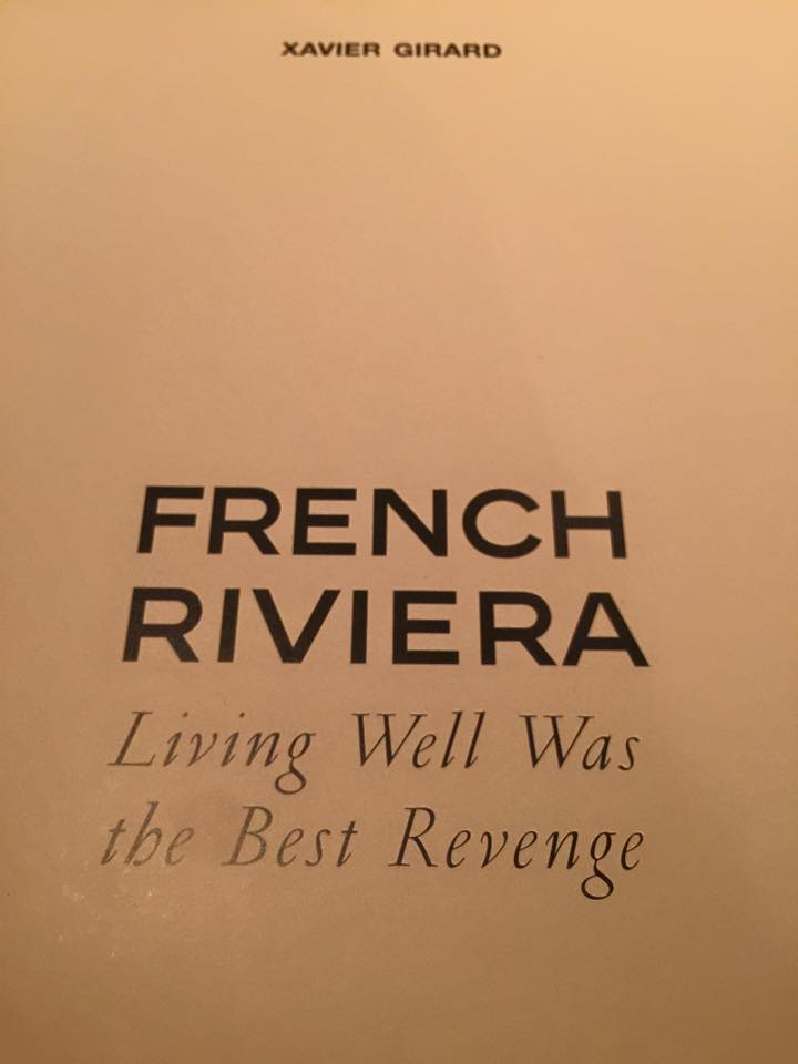 """Living well was the best revenge""   #xaviergirard"