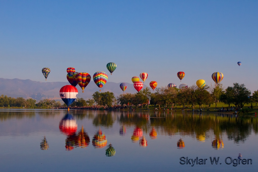 Colorado Springs Hot Air Balloon Festival