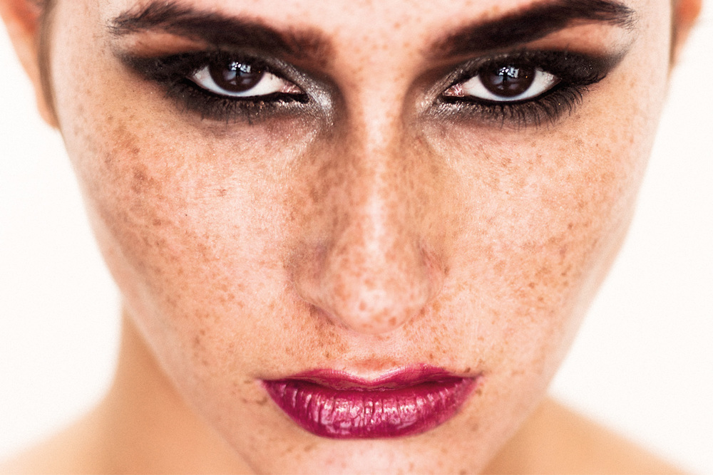 Beauty Photography - Freckles
