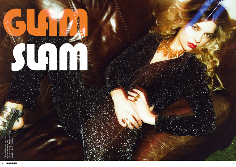 Glam Slam - Fashion Editorial Manchester
